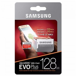 Karta Samsung MB-MC128GA/EU 128GB EVO+ mSD +Adapter