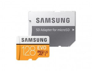 Karta Samsung MB-MP128GA/EU 128GB EVO mSD +Adapter