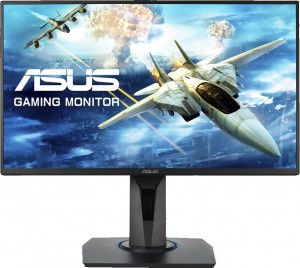 Monitor ASUS 24.5'' VG255H LED 1ms 75Hz 2xHDMI VGA 2xAudio Out GŁOŚNIK PIVOT AMD Free-sync