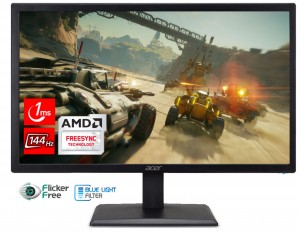 "ACER 22"" EG220QPBIPX - 144Hz, 1ms, AMD FreeSync"
