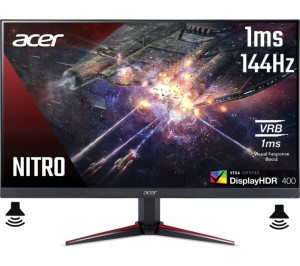 Monitor ACER 27'' Nitro VG271USbmiipx WQHD IPS 1ms 165Hz HDMI HDR