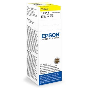 Epson Tusz T6644 YELLOW 70ml butelka do L100/110/200/210/300/355/550