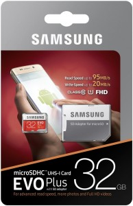 Karta Samsung MB-MC32GA/EU 32 GB EVO+ Adapter